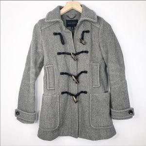 Banana Republic Wool Toggle Coat